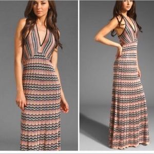 Trina Turk Dresses - ❌SOLD ❌ Trina Turk Knit Chevron Maxi Dress